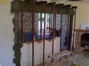 Agrandir Une Ouverture Dans Un Mur Porteur : un mur porteur c 39 est quoi ~ Voncanada.com Idées de Décoration