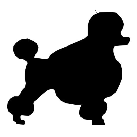 Dog Silhouette Drawings