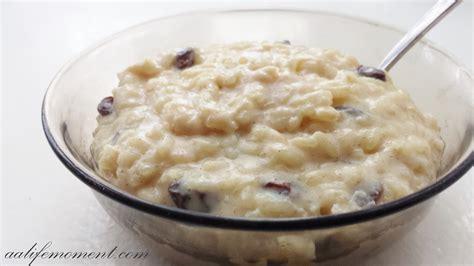 rice pudding recipe creamy rice pudding recipe dishmaps