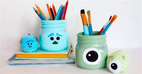 monsters  pencil holders   desk disney family