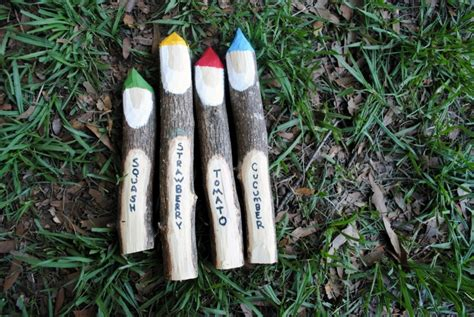 Seed Planters by 10 Diy Garden Markers Home Wizards