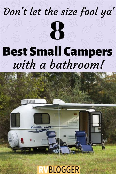 small camping trailers  bathrooms camping