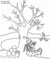 Invierno Dibujos Coloring Winter Colorear Nature Paisajes Dibujar Lapiz Imagenes Ninos Season Paisaje Faciles Tree Escolares Pintar Imprimir Dibujo Drzewo sketch template