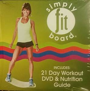 Simply Fit Board 21 Day Challenge Workout Kit 1 To Be Done