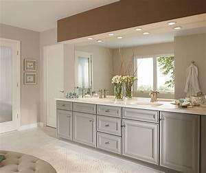 Gray Bathroom Cabinets - Kemper Cabinetry