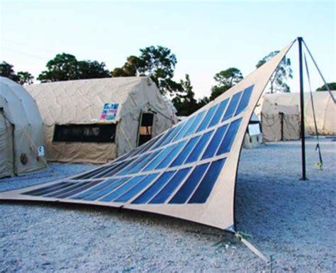 solar thin and fabrics on