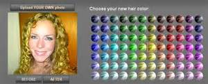 simulation de coupe de cheveux simulation couleur de cheveux