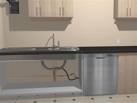 install a dishwasher in an existing kitchen cabinet how to install a built in dishwasher 6 steps with pictures 9853