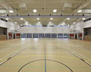 air conditioning  large sports halls early analysis