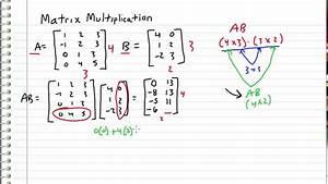 Linear Algebra - 4 - Matrix Multiplication - YouTube