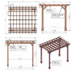 build your house free pergola plans pergoladiy