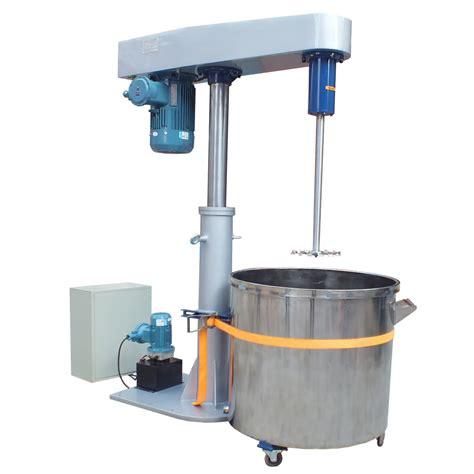 paint dispersion machine dispersing mixer high speed