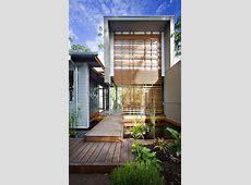 Contemporary Australian Home Built Using Reclaimed Wood