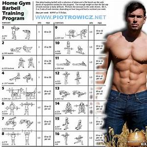 Great Barbell Strength Training Program | Home Gym Barbell ...