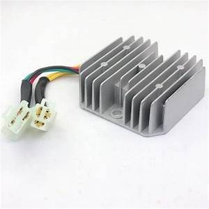 Voltage Regulator Rectifier Honda Elite Ch125 Ch150 Ch250