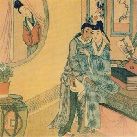 Woman spying on male lovers; China, Qing dynasty (18th-19th c) | Chinese Royalty | Pinterest ...