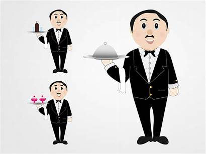 Waiters Freevector