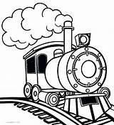 Train Steam Coloring Pages Drawing Clipart Printable Engine Express Polar Thomas Trains Locomotive Line Choo Toy Simple Colour Pdf Cool2bkids sketch template