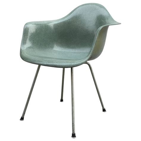 eames zenith seafoam green dax dining chair for sale at