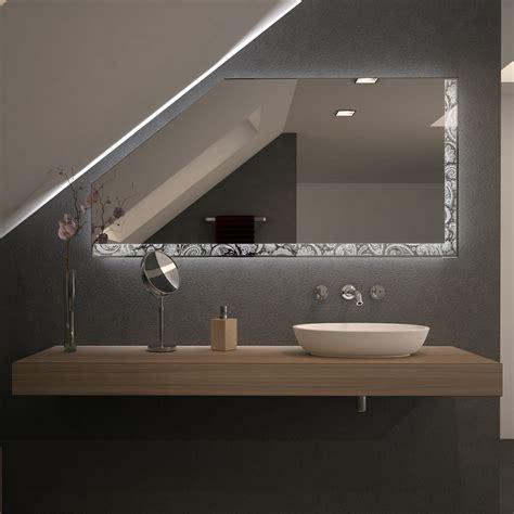 Spiegel Für Dachschrägen Mit Led Beleuchtung Rilara