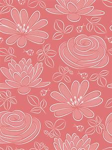 Vivid Flower pattern design vector graphic 05 - Vector ...