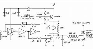 Broadcast Transmitter Circuit Diagram