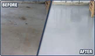 how to clean the garage floor prevent oil stains apps