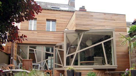 ouvrir la cuisine sur le salon entre ciel et vert une extension reconstruction qui