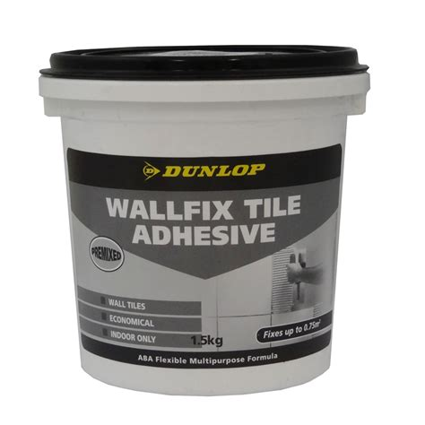 Tile Adhesive Remover Bunnings by Dunlop 1 5kg Wallfix Tile Adhesive Bunnings Warehouse
