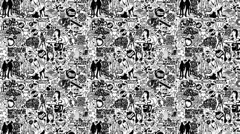 comics black  white  hd desktop wallpaper