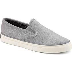Women's Grey Slip-On Sneakers