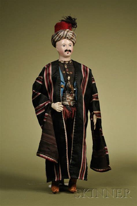 french papier mache arabian gentleman sale number