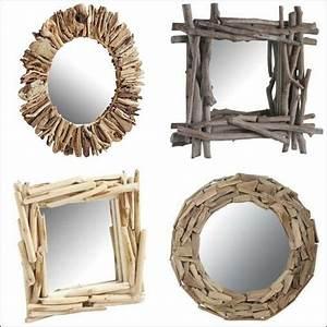 Miroir Bois Flotté : miroir en bois flott du choix et des prix avec kibodio ~ Teatrodelosmanantiales.com Idées de Décoration