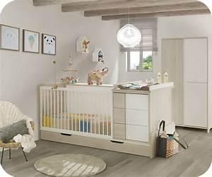 Lit Enfant Combiné : lit b b combin volutif lili bois et blanc ~ Farleysfitness.com Idées de Décoration