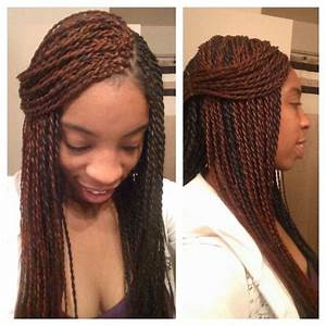 Senegalese Twists Ombre Hair Color ...