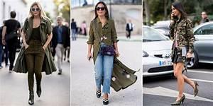 comment porter le kaki les looks tendance cosmopolitanfr With quelle couleur avec le bleu marine 13 conseil mode comment porter le jeans de couleur mode