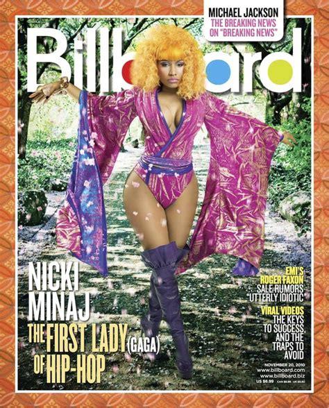 Nicki Minaj Covers Billboard Magazine