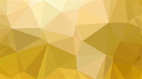 gold polygon triangle background