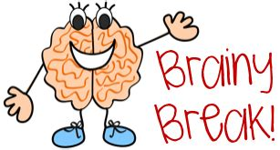 brain break clipart for kids clipartxtras