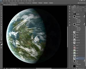 map making - What software can help me render a planet ...