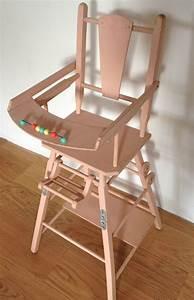 Chaise Haute De Poupe 5039s La Petite Factory De Julie
