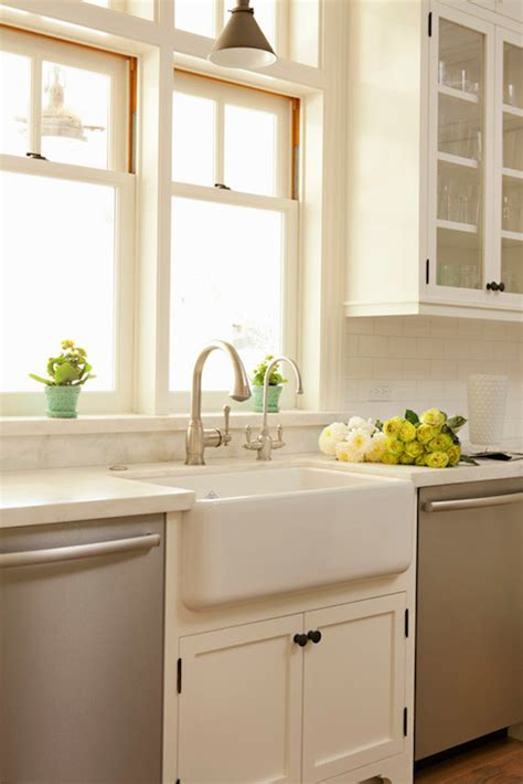Cream Marble Countertops   Transitional   kitchen