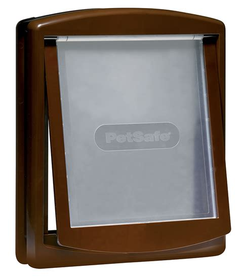 petsafe large door petsafe staywell original 2 way pet door large brown 163