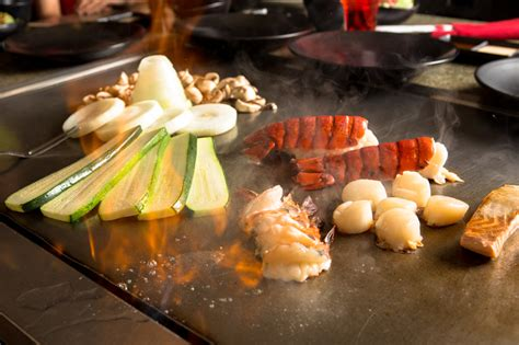 menu cuisine collective teppanyaki cooking adelaide outdoor kitchens
