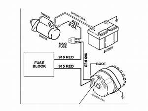 3 Wire Gm Alternator Schematic