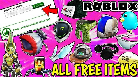 items  roblox working february  promo