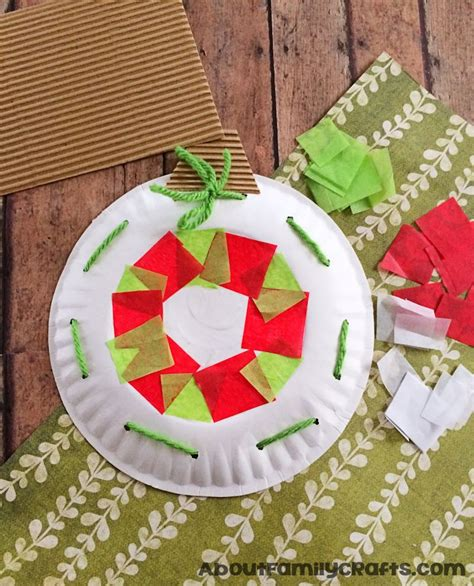 dltk christmas decoration 15 incredibly paper plate crafts