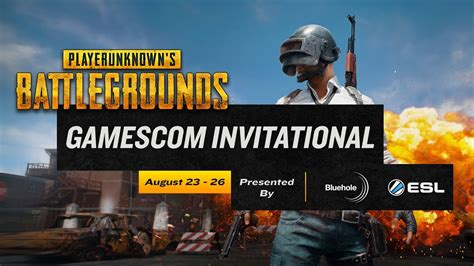 pubg gamescom invitational guide schedule teams