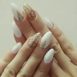 Elegant and amazing white gold nail art designs