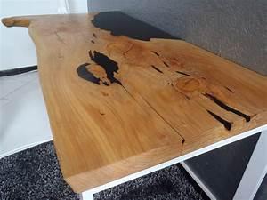 Table En Bois Et Resine : bureau fusion bois r sine boutique penone design ~ Dode.kayakingforconservation.com Idées de Décoration